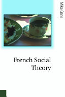 French Social Theory