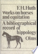 Works On Horses And Equitation