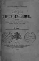 Optique photographique