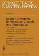 Exciton Dynamics in Molecular Crystals and Aggregates