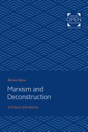 Marxism and Deconstruction