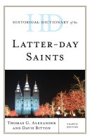 Historical Dictionary of the Latter day Saints