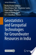 Geostatistics and Geospatial Technologies for Groundwater Resources in India Book
