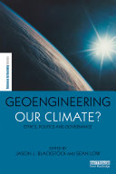 Geoengineering our Climate