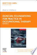 """""""Foundations for Practice in Occupational Therapy E-BOOK"""" by Edward A. S. Duncan"""