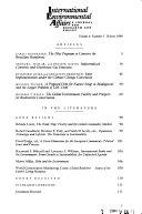 International Environmental Affairs Book