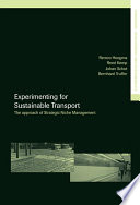 Experimenting For Sustainable Transport Book PDF