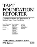 Taft Foundation Reporter