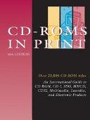 Cd Roms In Print Book