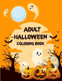 Adult Halloween Coloring Book (80 Unique Designs)