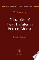 Principles Of Heat Transfer In Porous Media Book PDF