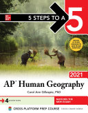 5 Steps to a 5  AP Human Geography 2021