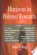 Horizons in Polymer Research