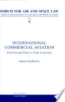 International commercial aviation : from foreign policy to trade in services