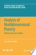 Analysis Of Multidimensional Poverty Book PDF