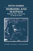 Murders and Madness Book