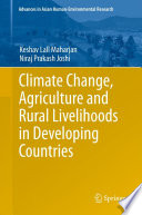 Climate Change  Agriculture and Rural Livelihoods in Developing Countries
