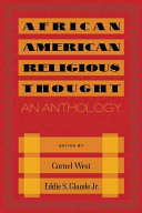 Pdf African American Religious Thought