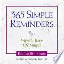 365 Simple Reminders