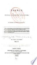 France  Social  Literary  Political Book PDF