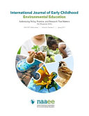 International Journal Of Early Childhood Environmental Education Volume 6 No 2