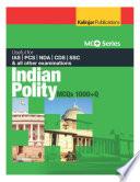 MCQ SERIES: Indian Polity (1000+ MCQ)