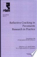 PRO 11  4th International RILEM Conference on Reflective Cracking in Pavement Research in Practice