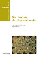 Die Literatur der Literaturtheorie