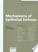 Mechanisms of Epithelial Defense
