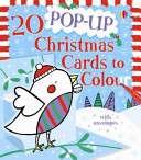 20 Pop Up Christmas Cards to Colour