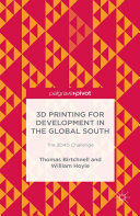 3D Printing for Development in the Global South [Pdf/ePub] eBook