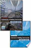 Set Fundamentals of Building Construction, Sixth Edition with Interactive Resource Center Access Card and Construction Exercises 6E