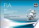 FIA Recording Financial Transactions - FA1 Passcards-2012-2013