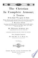 The Christian In Complete Armour Book PDF