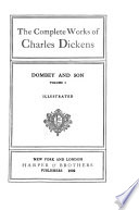 The Complete Works Of Charles Dickens Dombey Son