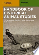 Handbook of Historical Animal Studies