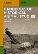 Handbook of Historical Animal Studies Pdf/ePub eBook
