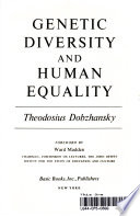 Genetic diversity and human equality