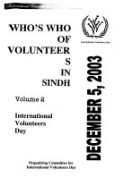 Who S Who Of Volunteers In Sindh
