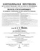 Dictionnaire universel de la langue française avec le latin et l'étymologie