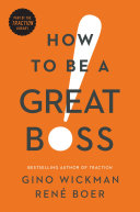 How to Be a Great Boss Pdf/ePub eBook