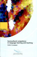 Sociocultural Competence in Language Learning and Teaching