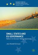 Small States and EU Governance