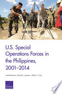 U S  Special Operations Forces in the Philippines  2001   2014