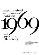 Mechanical Engineers Catalog and Product Directory