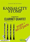 Kansas City Stomp - Clarinet Quartet score & parts Pdf/ePub eBook