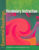 Essential Readings On Vocabulary Instruction