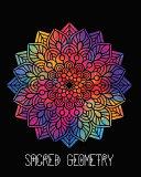 Sacred Geometry  Rainbow Dreams Mandala Art Journal Cover  Cornell Lined Notebook   Geometric Design for Yoga  Meditation  Dream Diary