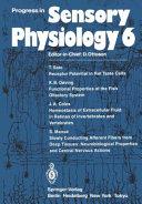 Progress in Sensory Physiology