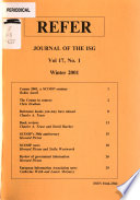 Refer  : Journal of the RSIS. , Bände 17-19